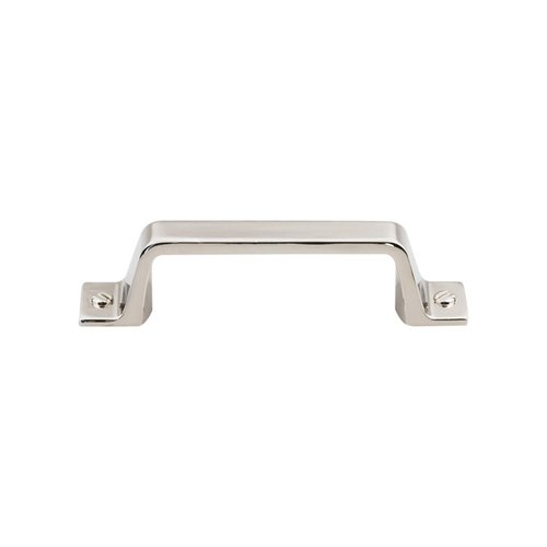 Top Knobs Barrington 3 Inch Center to Center Polished Nickel Cabinet Pull TK742PN