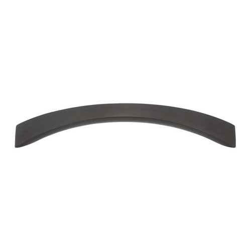 Sleek 5-1/16 Inch Center to Center Black Cabinet Pull <small>(#A881-BL)</small>