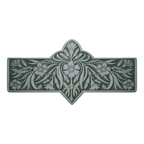 Notting Hill English Garden 3 Inch Center to Center Antique Pewter Cabinet Pull NHP-678-AP-C