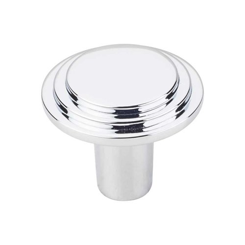 Elements by Hardware Resources Calloway 1-1/4 Inch Diameter Polished Chrome Cabinet Knob 331L-PC
