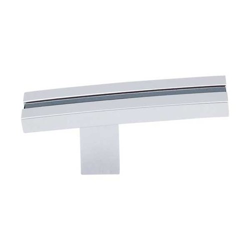 Sanctuary 2-5/8 Inch Length Polished Chrome Cabinet Knob <small>(#TK82PC)</small>