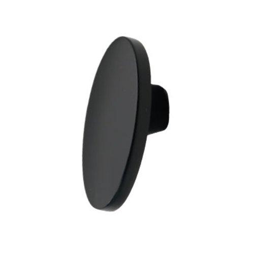 Hickory Hardware Luna 1-5/8 Inch Length Matte Black Cabinet Knob P3445-MB