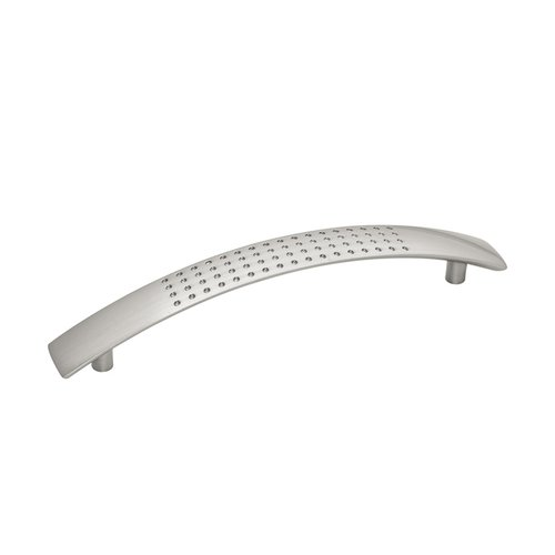 Hickory Hardware Metropolis 5-1/16 Inch Center to Center Satin Nickel Cabinet Pull P2925-SN