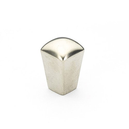 Schaub and Company Skyvale 1/2 Inch Diameter Satin Nickel Cabinet Knob 300-15