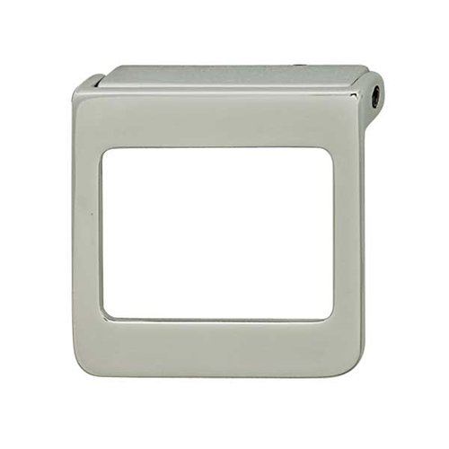Hafele Bella Italiana 1-7/8 Inch Center to Center Polished Chrome Cabinet Pull 111.60.200