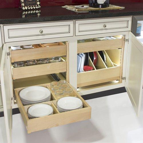 "Tenn-Tex QuikTRAY Add On Drawer for 18"" Cabinets 3.5"" High QT-10018PM"