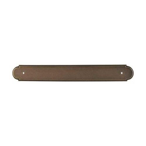 Top Knobs Appliance Pull 12 Inch Center to Center German Bronze Back-plate M880