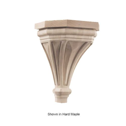 Brown Wood Pinnacle Large Corbel Unfinished Red Oak 01607316AK1