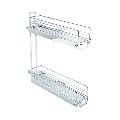 Kessebohmer 2 Tier Base Pullout 90 Degree Chrome 545.61.232