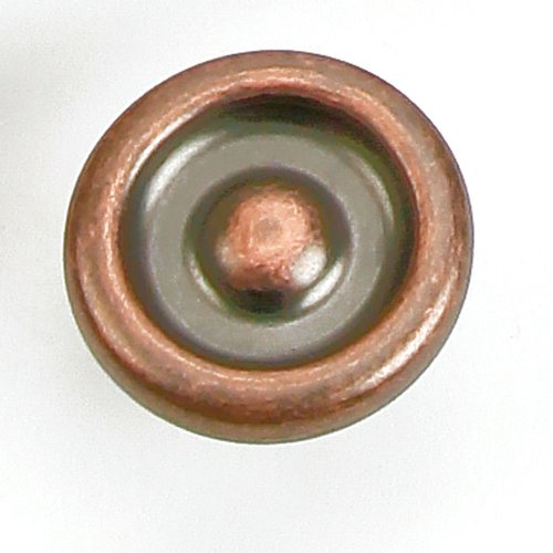 Laurey Hardware Foundry 1-1/4 Inch Diameter Antique Copper Cabinet Knob 39207