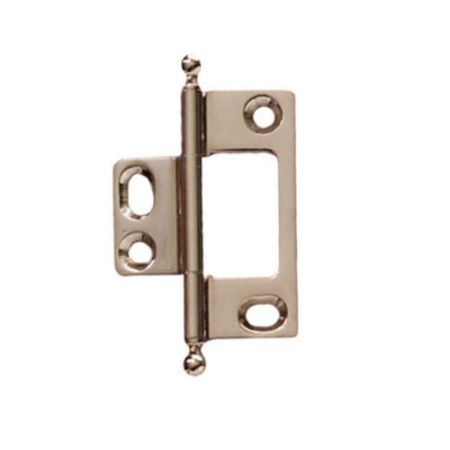 Hafele Elite Non-Mortised Butt Hinge 50X37mm - Polished Nickel 351.95.782