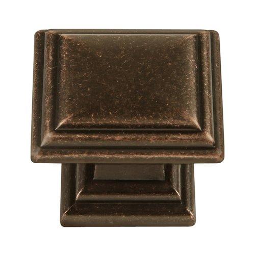 Hickory Hardware Somerset 1-5/16 Inch Diameter Dark Antique Copper Cabinet Knob HH74639-DAC