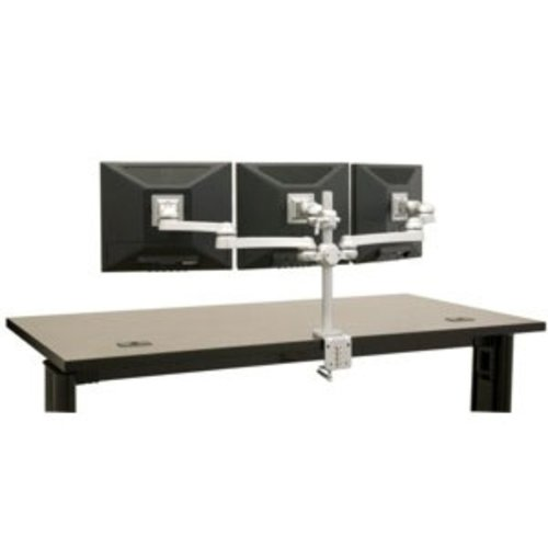"Three Monitor Arm Direct & 21"" Extension-Grommet Mount <small>(#FPA900VG)</small>"