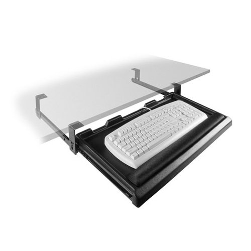 Fulterer FR1600 Keyboard Tray-Black 6000351