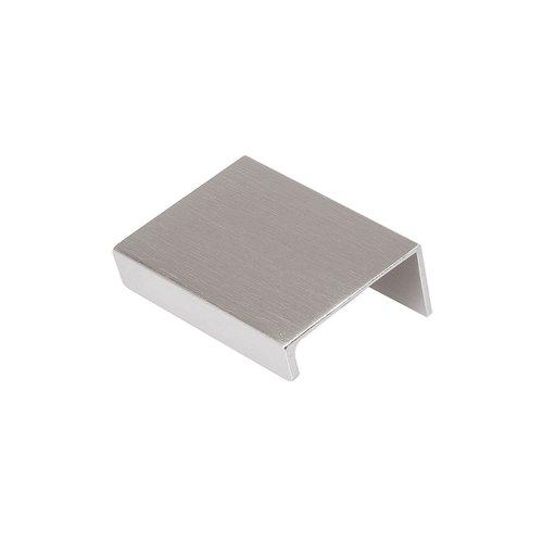 "Hickory Hardware Austere Lip Pull 2"" Long Aluminum-Sold Per Pair C02H075744-AL"