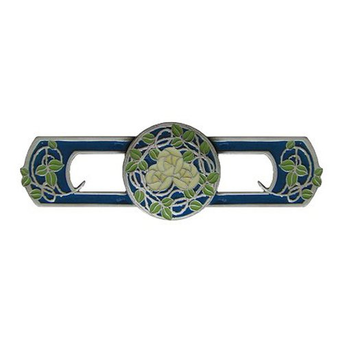Notting Hill Arts & Crafts 3 Inch Center to Center Antique Pewter Cabinet Pull NHP-671-AP-B