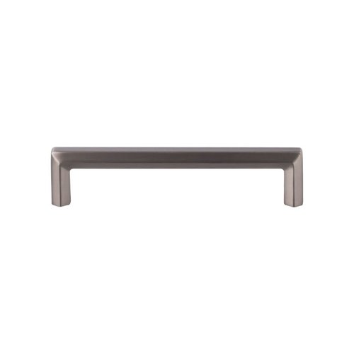 Top Knobs Serene 5-1/16 Inch Center to Center Brushed Satin Nickel Cabinet Pull TK794BSN