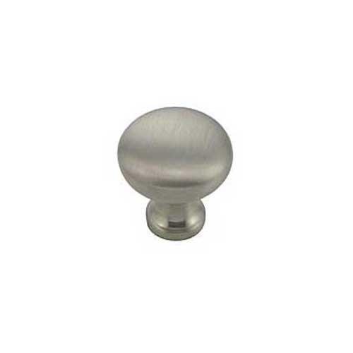 MNG Hardware Vanilla 1-1/4 Inch Diameter Satin Antique Nickel Cabinet Knob 16521