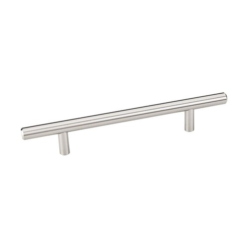 Naples 5-1/16 Inch Center to Center Satin Nickel Cabinet Pull <small>(#206SN)</small>