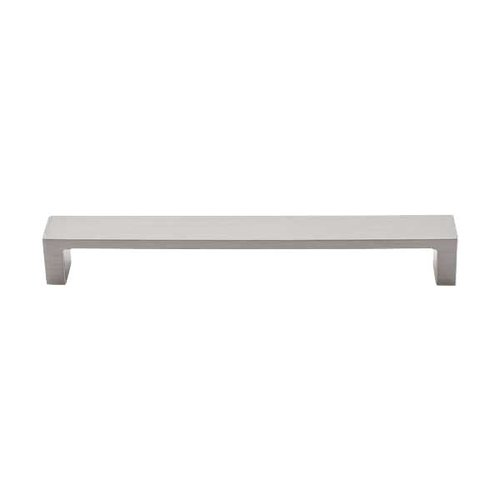 Top Knobs Sanctuary II 7 Inch Center to Center Brushed Satin Nickel Cabinet Pull TK252BSN