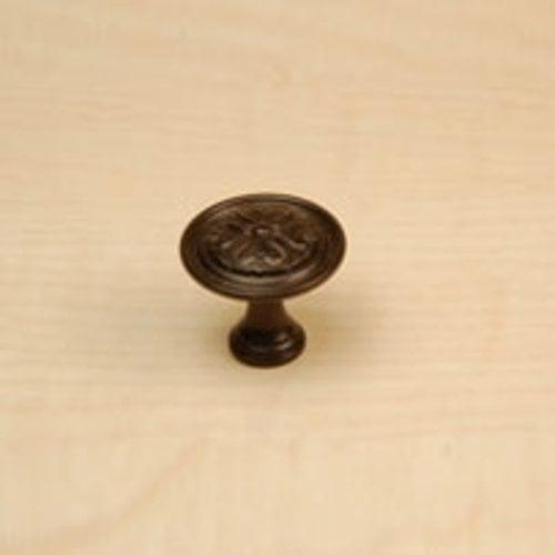 Century Hardware Iris 1-3/16 Inch Diameter Oil Rubbed Bronze Cabinet Knob 28015-OBL