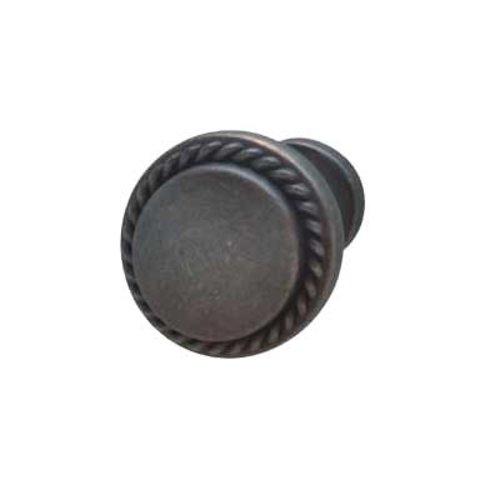 Hafele Americana 1-3/16 Inch Diameter Oil Rubbed Bronze Cabinet Knob 133.79.351