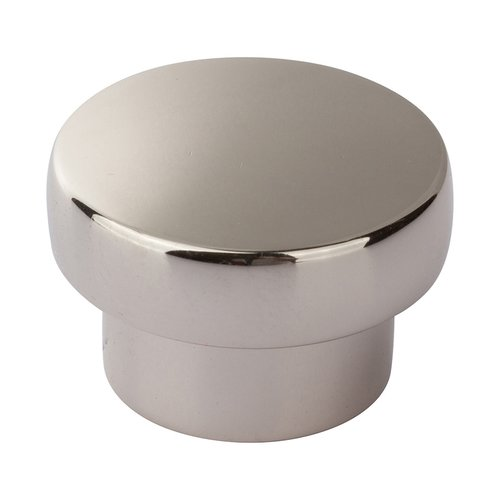 "Atlas Homewares Chunky Knobs 1-1/3"" Dia Polished Nickel A913-PN"
