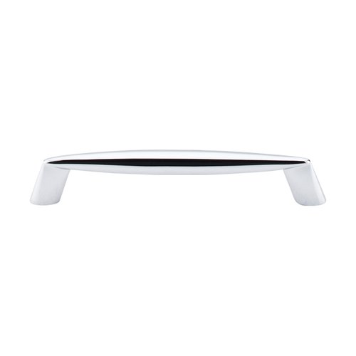 Nouveau II 5-1/16 Inch Center to Center Polished Chrome Cabinet Pull <small>(#M571)</small>