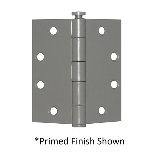 "Full Mortise Plain Bearing Hinge 4-1/2"" X 4"" Satin Chrome <small>(#PB74540-652)</small>"