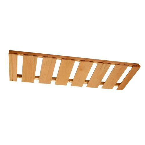 Omega National Products 18X12 Hickory Stemware Rack S9600HUF1