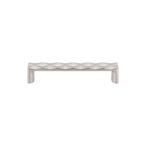 Top Knobs Mercer 5-1/16 Inch Center to Center Brushed Satin Nickel Cabinet Pull TK562BSN