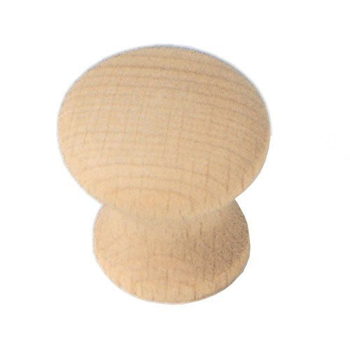Laurey Hardware Au Natural 1-1/4 Inch Diameter Wood Cabinet Knob 33301