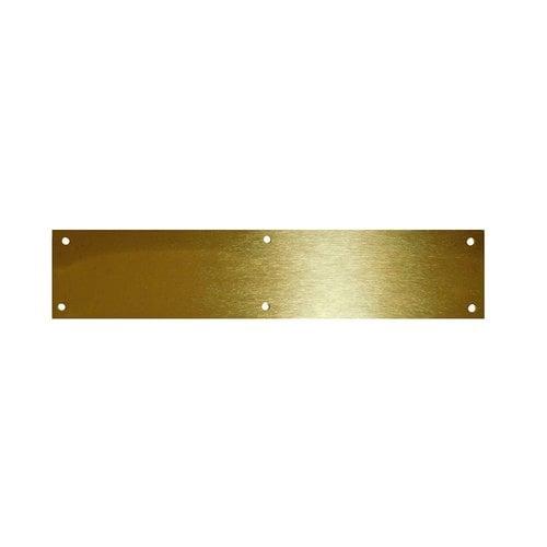 "Don-Jo Brass Door Kick Plate 8"" X 28"" 90-8"" X 28""-605"