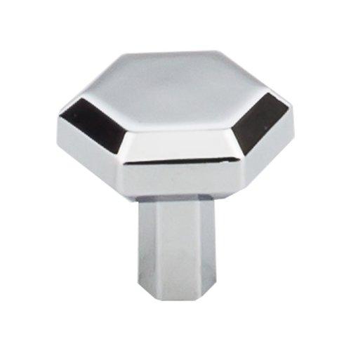 Top Knobs Serene 1-1/8 Inch Diameter Polished Chrome Cabinet Knob TK791PC