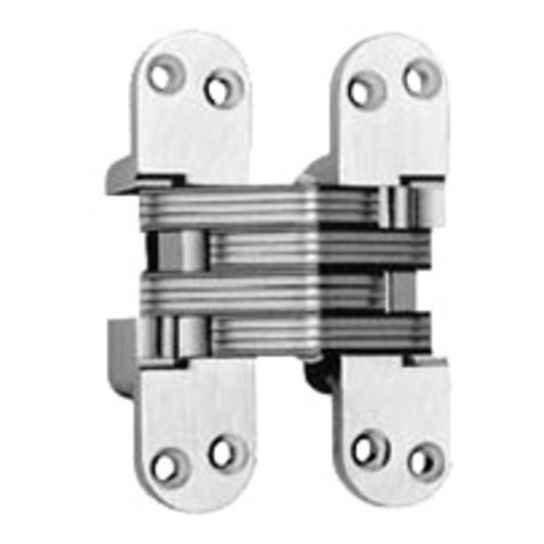 Soss #220 Fire Rated Invisible Hinge Bright Nickel 220FRUS14