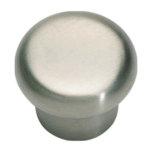 Atlas Homewares Fluted 1-1/4 Inch Diameter Stainless Steel Cabinet Knob A856-SS