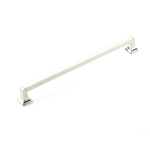 Schaub and Company Menlo Park 15 Inch Center to Center Polished Nickel Appliance Pull 535-PN