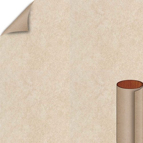 Almond Leather Matte Finish 4 ft. x 8 ft. Peel/Stick Vertical Grade Laminate Sheet <small>(#2932-60-735-48X096)</small>