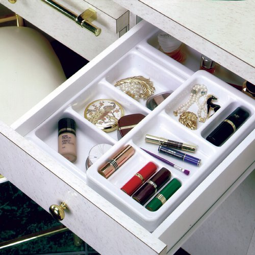 "Rev-A-Shelf Cosmetic Tray w/ 6"" Top Rolling Tray COSK-18"