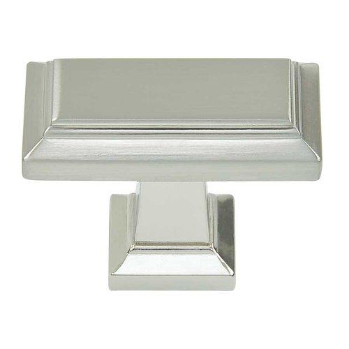 Atlas Homewares Sutton Place 1-1/2 Inch Diameter Brushed Nickel Cabinet Knob 290-BRN