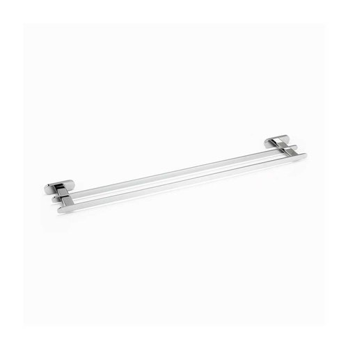 "R. Christensen 24"" Double Towel Bar Polished Chrome 6622-3026-P"