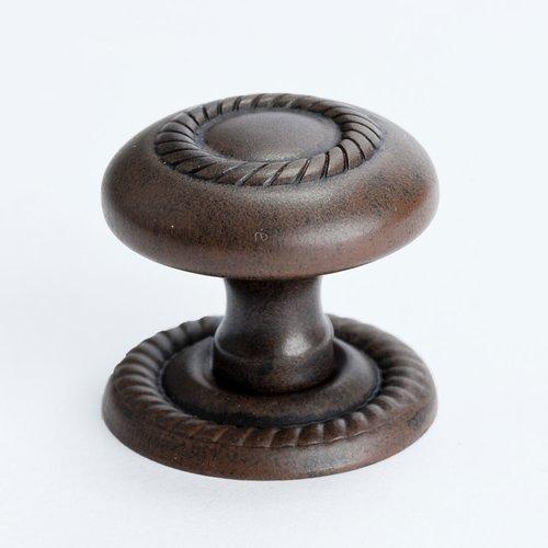 Berenson Advantage Plus 4 1-1/4 Inch Diameter Rust Glaze Cabinet Knob 0957-1RG-P