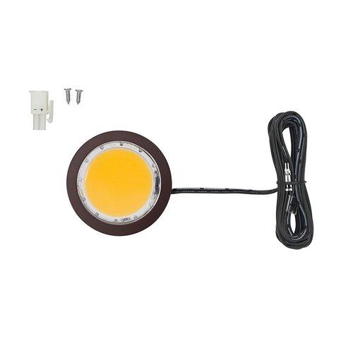 Tresco International Tresco 5W 3000K Oil Rubbed Bronze LED Pockit Spotlight L-POC-5LEDSCL-WORB-10