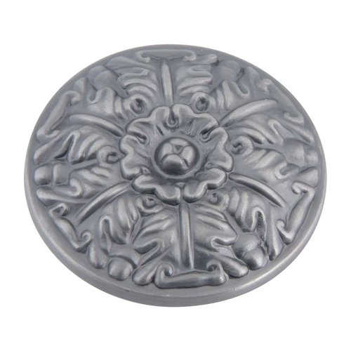 Atlas Homewares Hammered 1-1/2 Inch Diameter Pewter Cabinet Knob 138-P