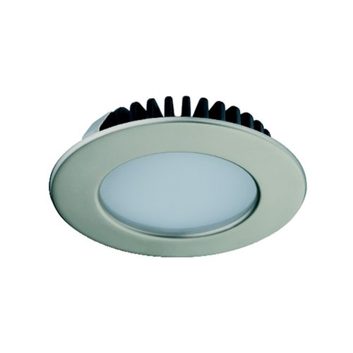 Hafele Loox 2020 12V LED Matte Nickel Spotlight Cool White 833.72.286