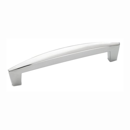 Amerock Creased Bow 5-1/16 Inch Center to Center Polished Chrome Cabinet Pull BP2701726