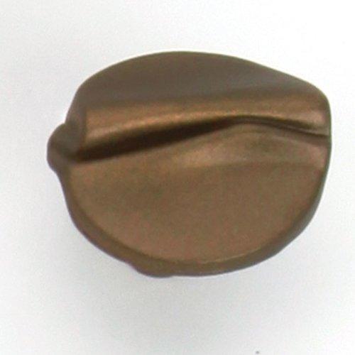 Laurey Hardware Garbow 1-3/8 Inch Diameter Aged Brass Cabinet Knob 37802