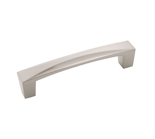 Hickory Hardware Crest Pull 3-3/4 inch Center to Center Satin Nickel H076130-SN
