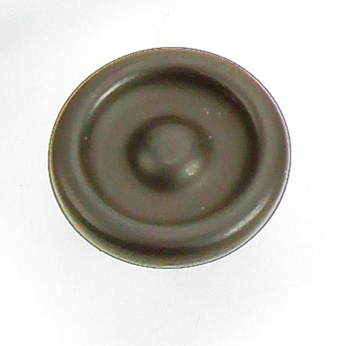 Foundry 1-1/4 Inch Diameter Oil Rubbed Bronze Cabinet Knob <small>(#39266)</small>