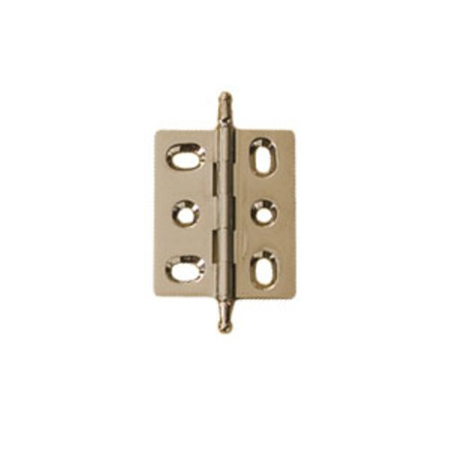 Hafele Elite Mortised Butt Hinge 50X40mm - Polished Nickel 354.17.700